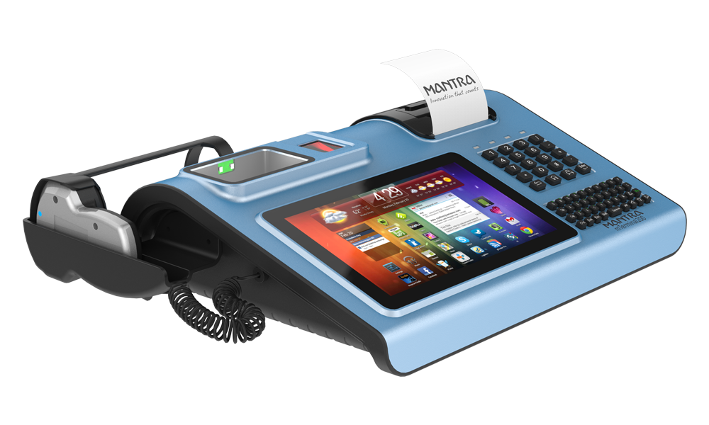 Iris Fingerprint Biometric Pos Machine All In One Mterminal200